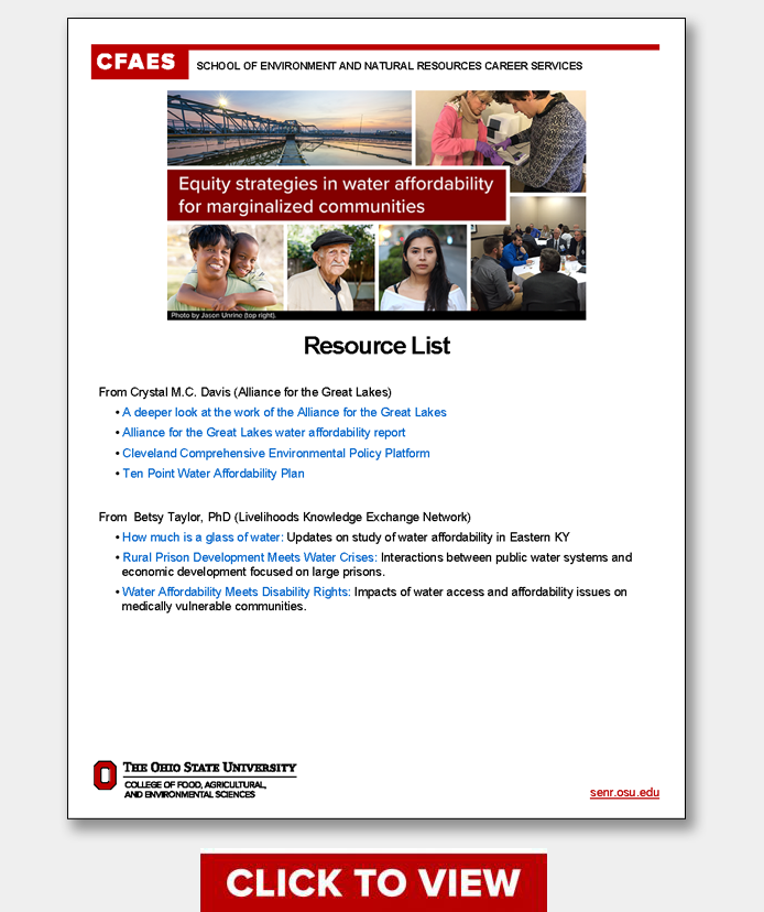 EPN March 9 Webinar Resource List