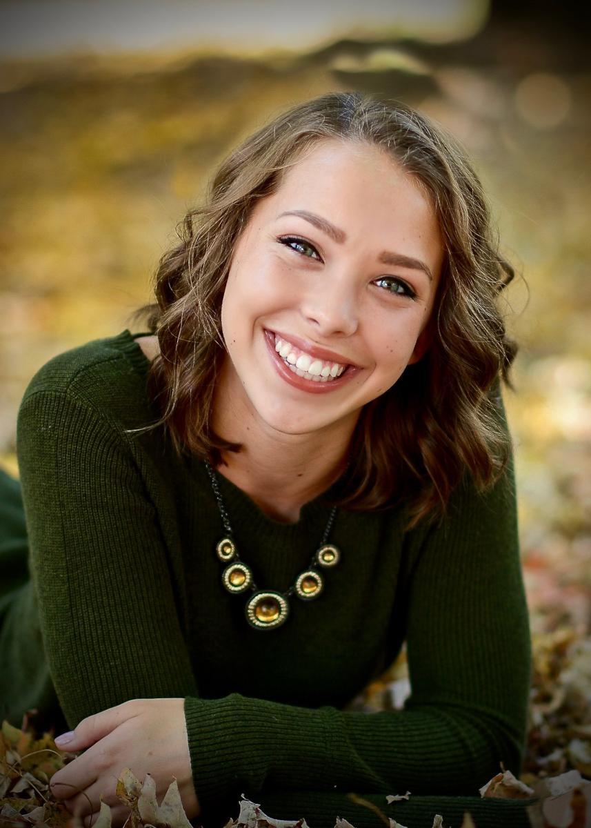 Image of Katie Fackler in green top